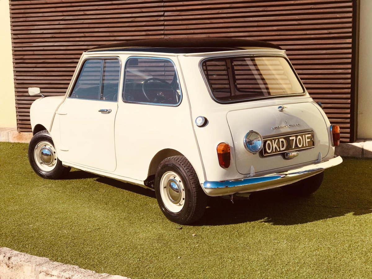 1968 MORRIS MINI COOPER S 1a series - RHD For Sale (picture 2 of 6)