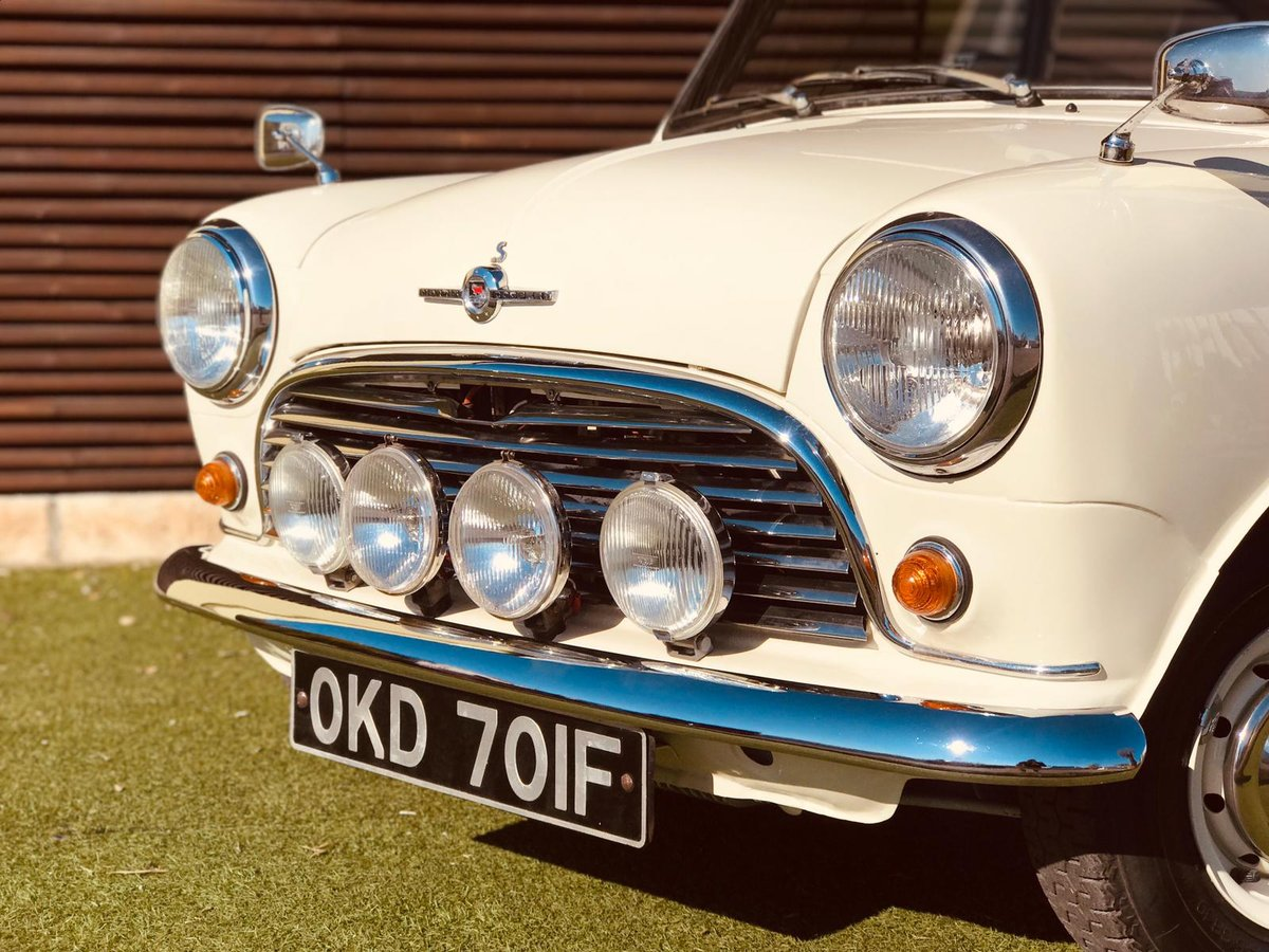 1968 MORRIS MINI COOPER S 1a series - RHD For Sale (picture 6 of 6)