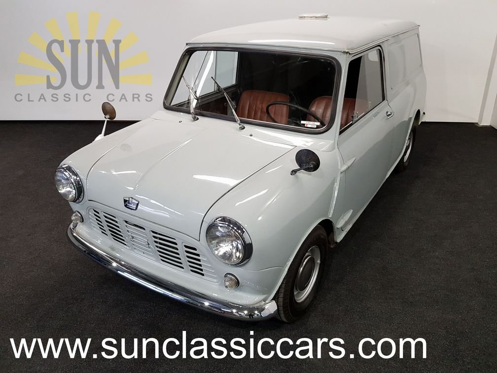 1961 Austin Mini Van LHD, very good unrestored condition For Sale (picture 1 of 6)
