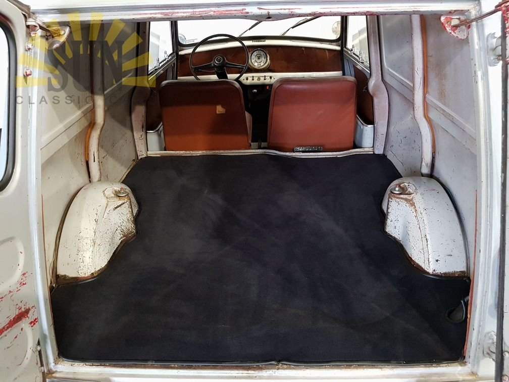 1961 Austin Mini Van LHD, very good unrestored condition For Sale (picture 6 of 6)