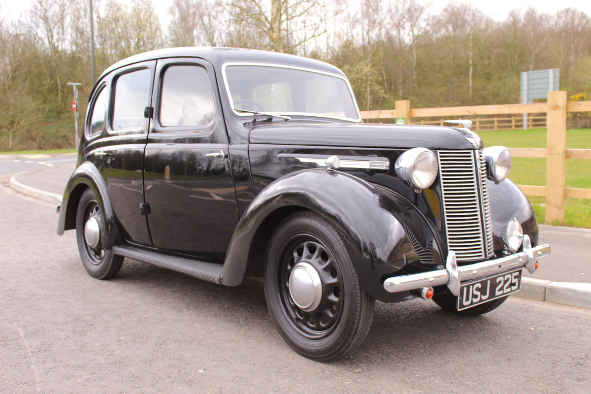 1946 Austin 8  AR Saloon with Sliding Sunshine Roof SOLD (picture 1 of 6)
