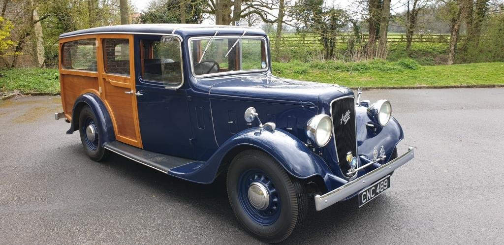 **APRIL AUCTION**1936 Austin 16/6 Shooting Brake SOLD by Auction (picture 1 of 1)