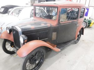 **APRIL AUCTION**Circa 1932 Austin Seven Box