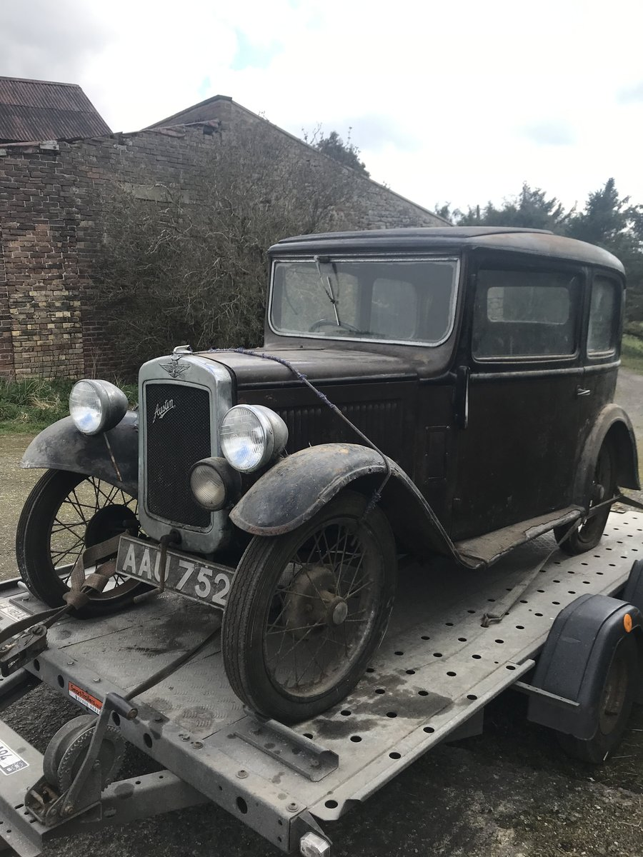 1933 Austin Seven RP Saloon SOLD (picture 1 of 6)