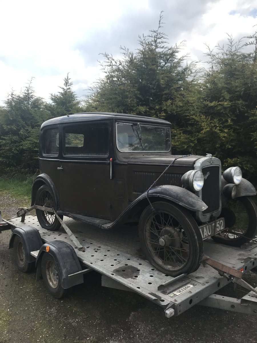 1933 Austin Seven RP Saloon SOLD (picture 2 of 6)
