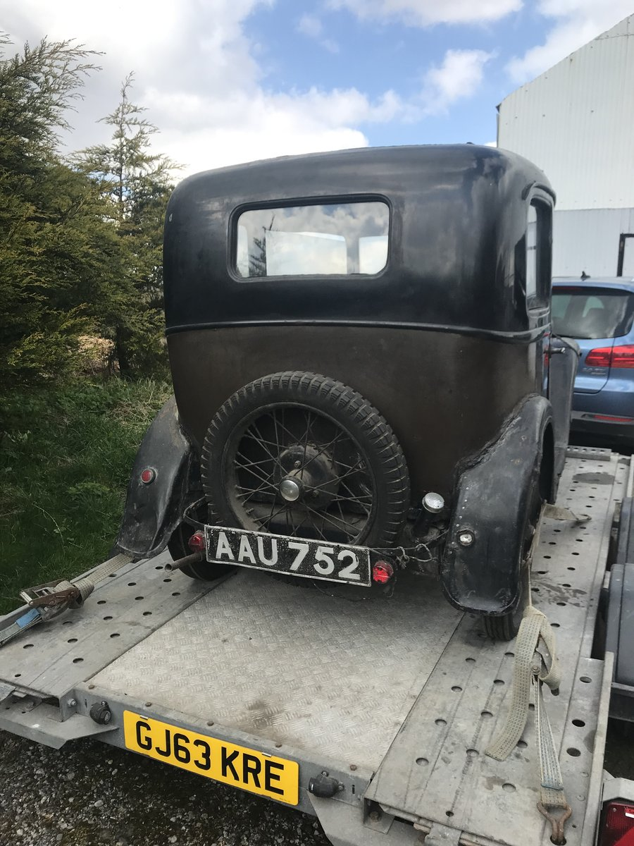 1933 Austin Seven RP Saloon SOLD (picture 3 of 6)