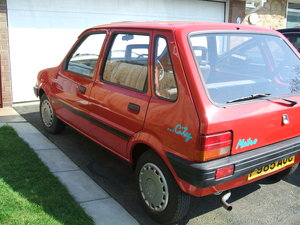 1989      Austin  metro 4 door 13,200 miles For Sale