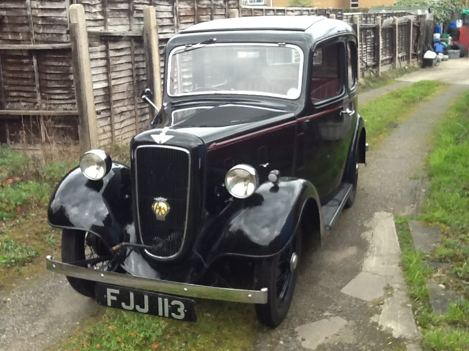 1939 Austin 7 Ruby SOLD (picture 1 of 6)
