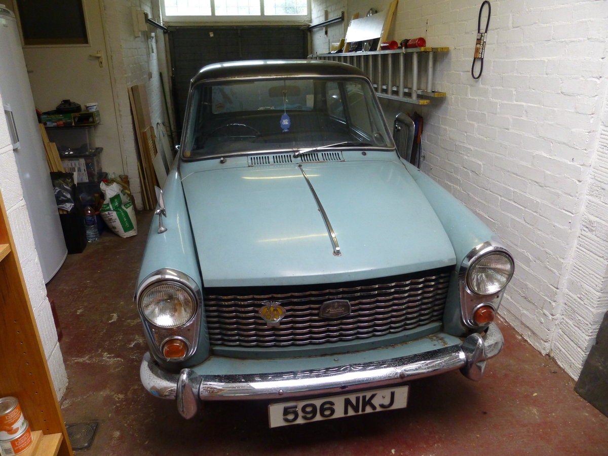 1961 AustinA40 Farina Restoration Project  SOLD (picture 4 of 6)