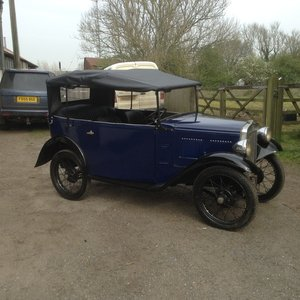 1933 Austin 7 tourer  For Sale