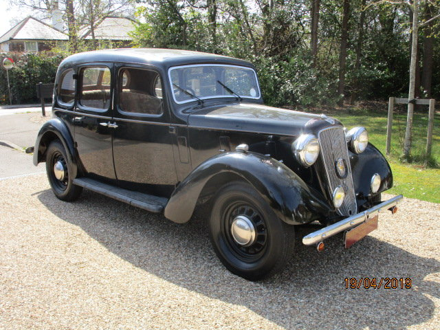 1938 Austin 12 Saloon (Card Payments Accepted & Delivery) SOLD (picture 1 of 6)