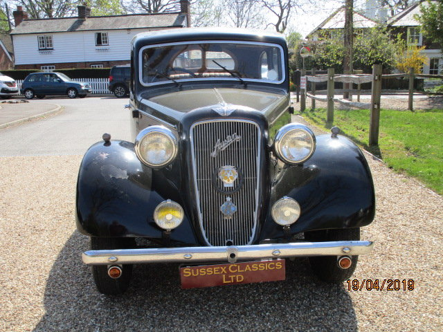 1938 Austin 12 Saloon (Card Payments Accepted & Delivery) SOLD (picture 2 of 6)