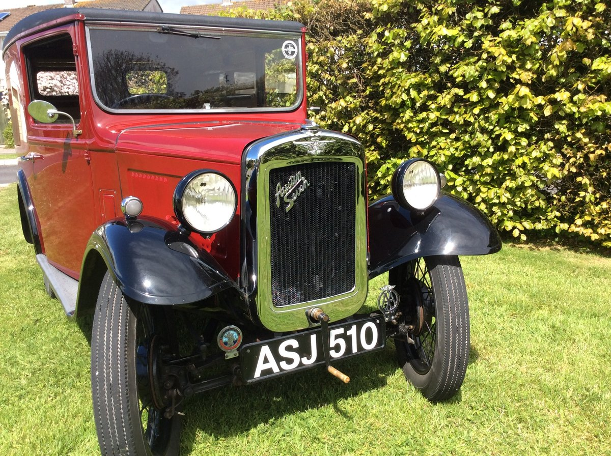 1937 Austin 7 Van For Sale (picture 1 of 6)