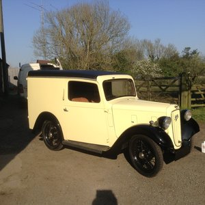 1938 Austin 7 van  For Sale