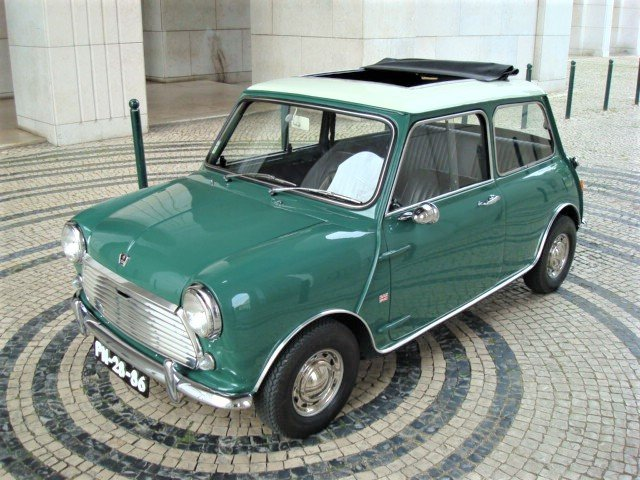 1969 Austin Mini Cooper 1000 Mk II SOLD (picture 1 of 6)