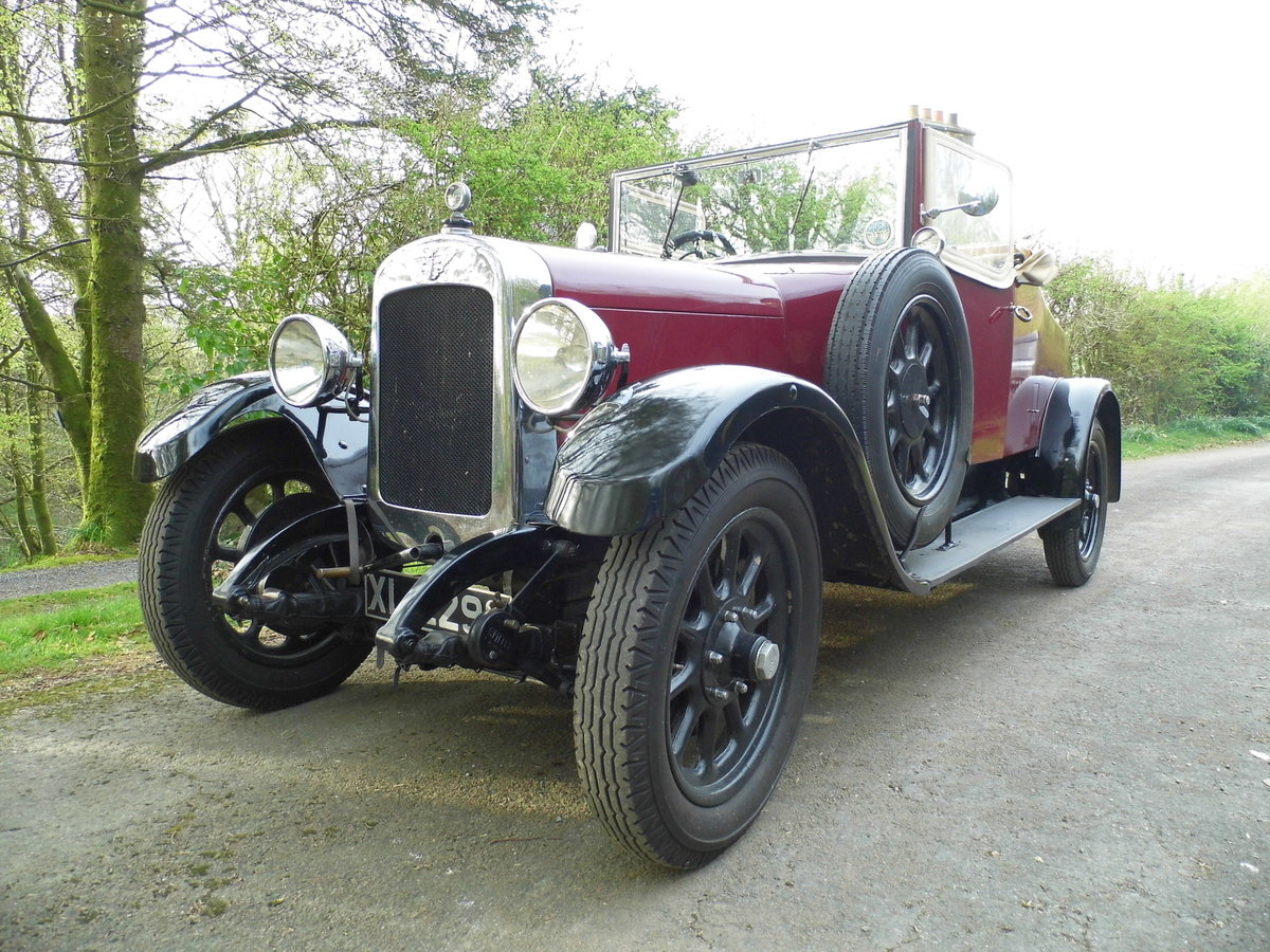 Austin Twenty 20/4 drophead 1926 SOLD (picture 1 of 6)