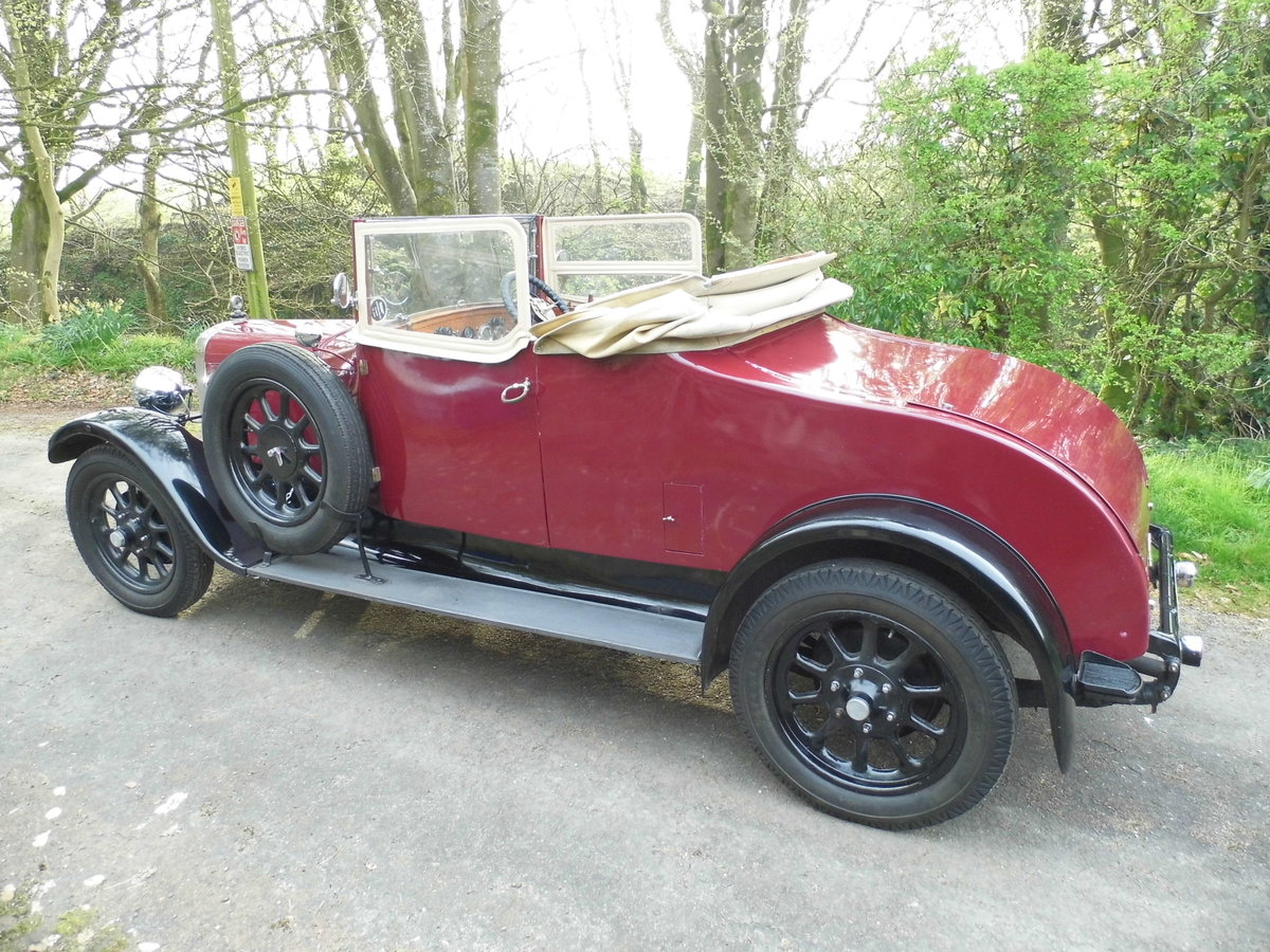 Austin Twenty 20/4 drophead 1926 SOLD (picture 2 of 6)