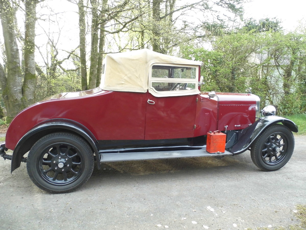 Austin Twenty 20/4 drophead 1926 SOLD (picture 5 of 6)