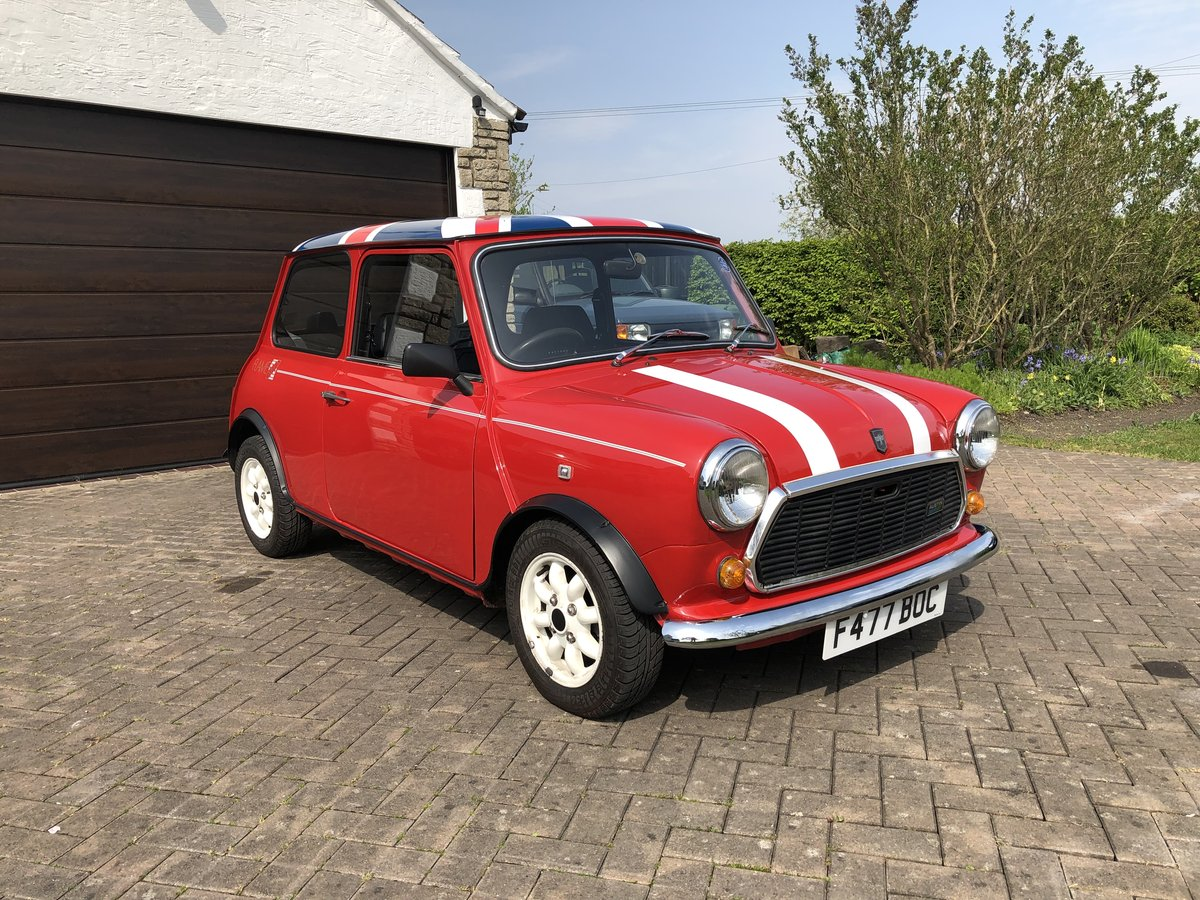 1989 Austin Mini Flame Red Limited Edition 998cc For Sale (picture 1 of 6)