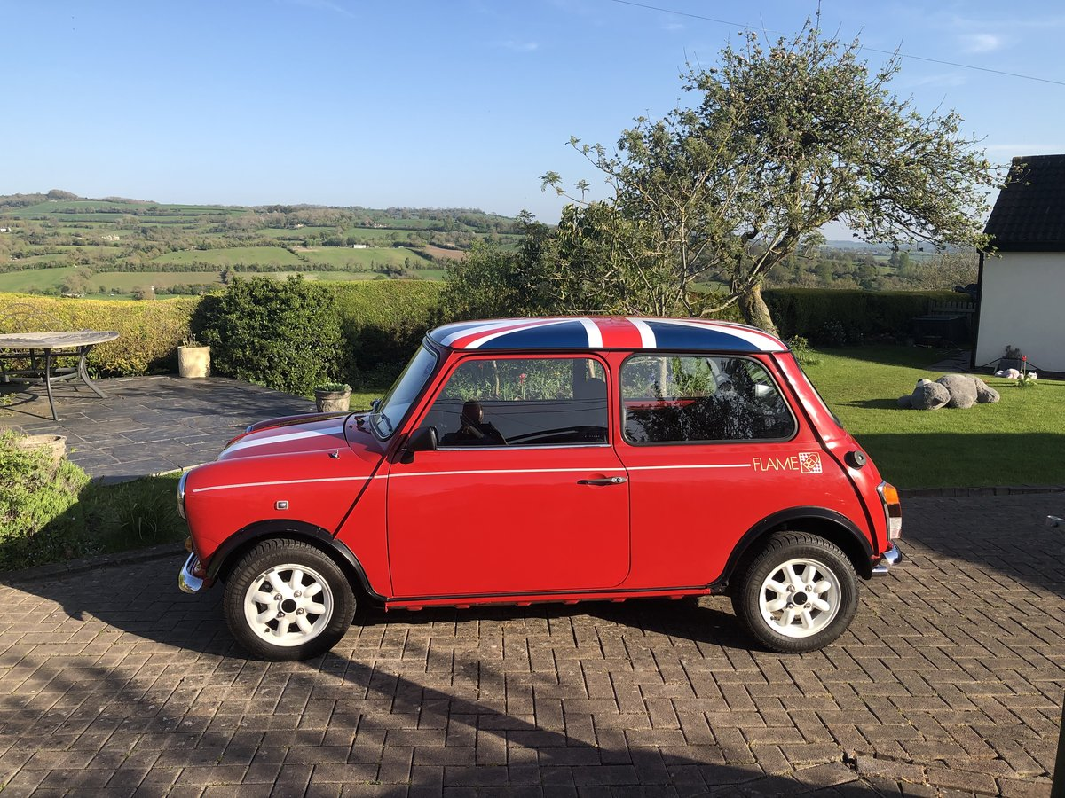 1989 Austin Mini Flame Red Limited Edition 998cc For Sale (picture 3 of 6)