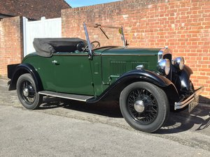 1933 Austin 10 open tourer For Sale