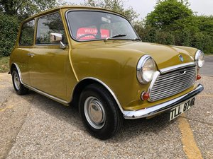 1977 Austin Mini 850. Harvest Gold. 44k. Very rare. For Sale