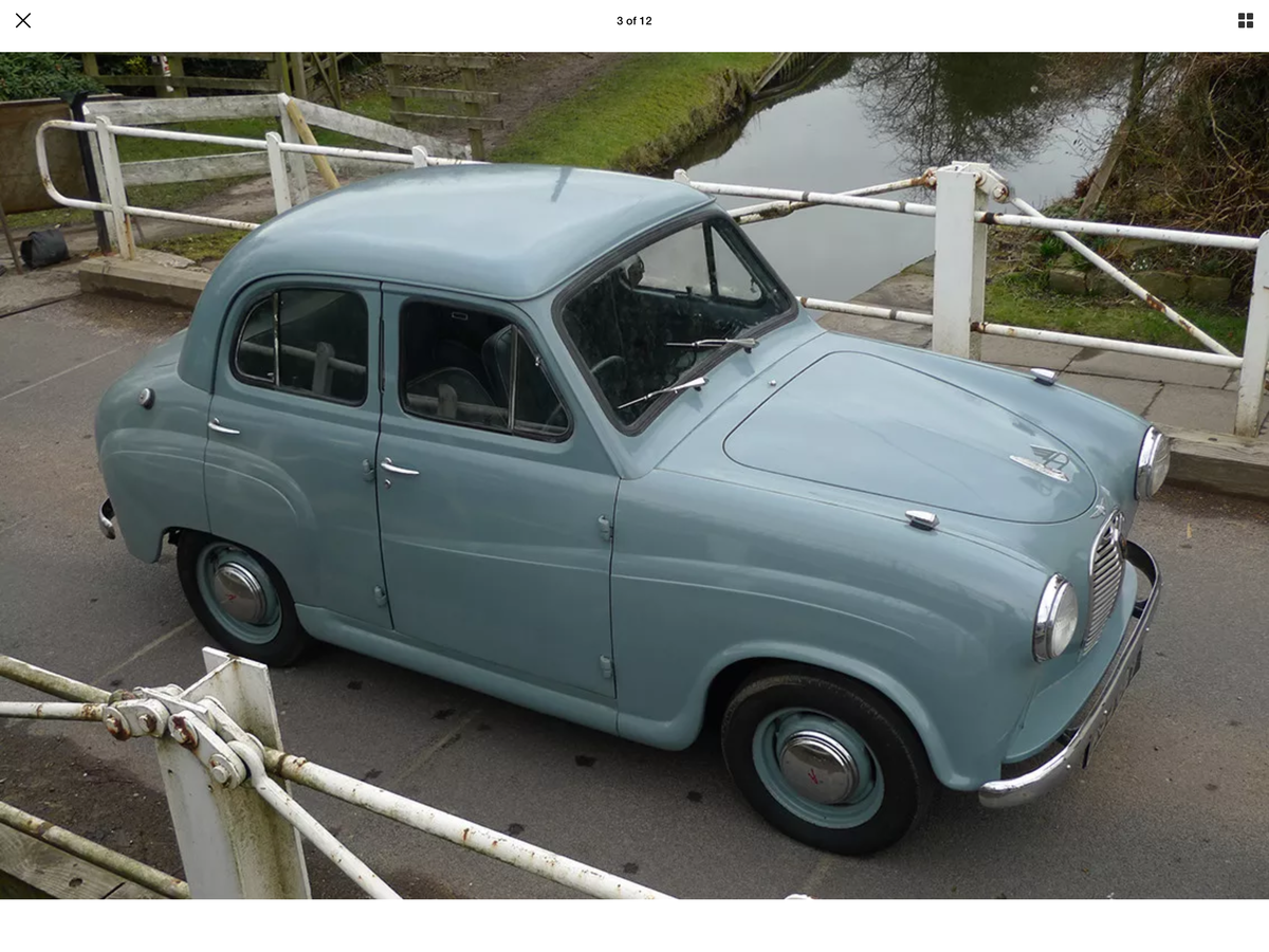 1952 Austin A30/7 (A3s) very early model £3250 For Sale (picture 6 of 6)