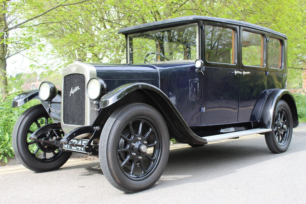 1929 AUSTIN HEAVY 12/4 BURNHAM SALOON For Sale (picture 1 of 5)