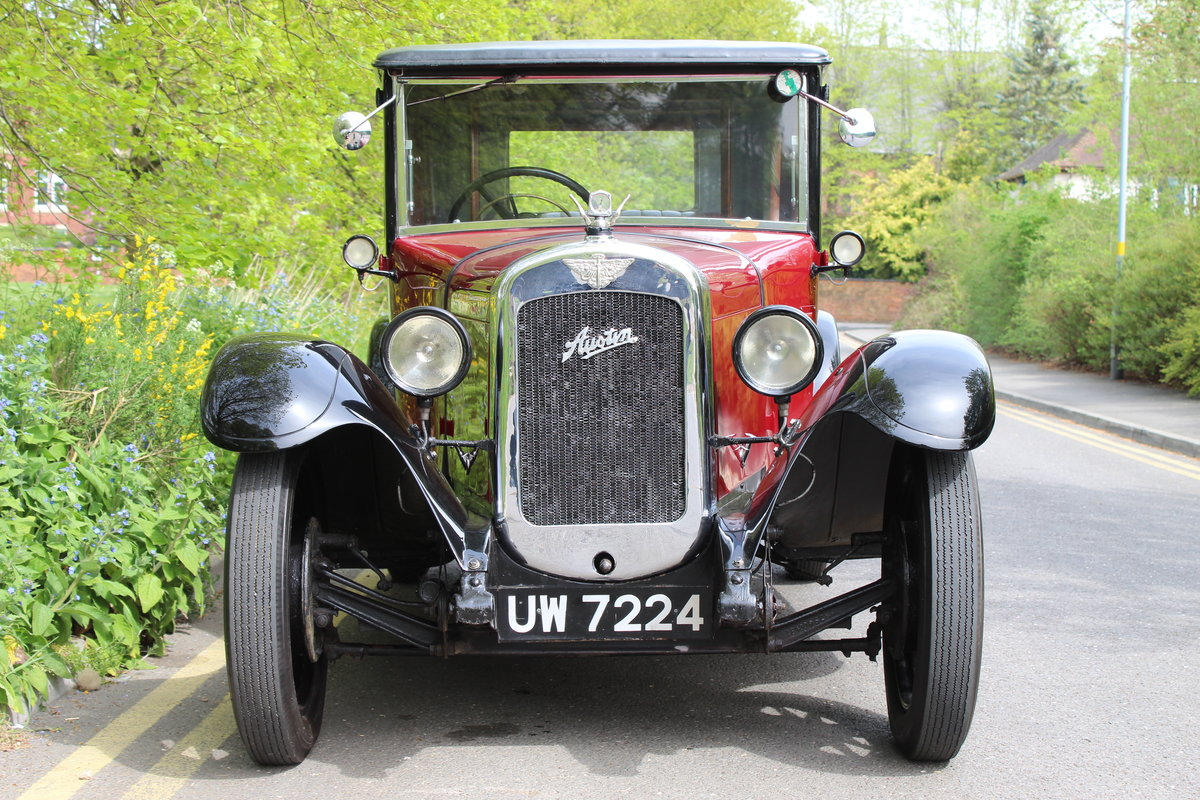1929 AUSTIN HEAVY 12/4 IVER SALOON For Sale (picture 1 of 5)