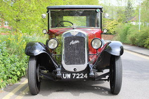 1929 AUSTIN HEAVY 12/4 IVER SALOON For Sale