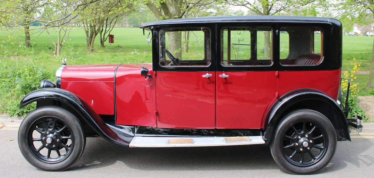 1929 AUSTIN HEAVY 12/4 IVER SALOON For Sale (picture 2 of 5)