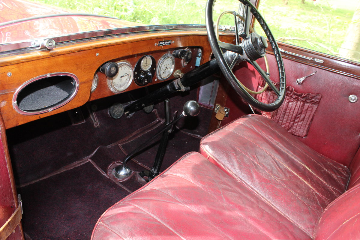 1929 AUSTIN HEAVY 12/4 IVER SALOON For Sale (picture 3 of 5)