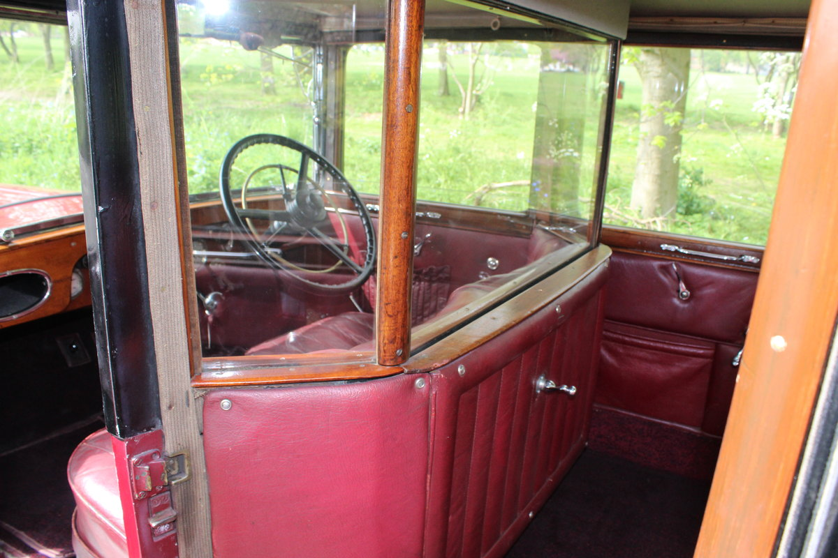 1929 AUSTIN HEAVY 12/4 IVER SALOON For Sale (picture 4 of 5)