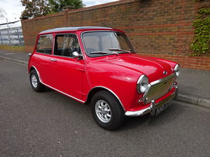 1969 AUSTIN MINI-COOPER 'S' 1275cc  SOLD