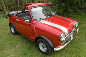 1972 Austin Morris Mini 1,000 Convertible SWB For Sale
