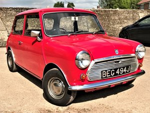 1971 Austin Mini Cooper S Mark III+2 owners in 37 years SOLD