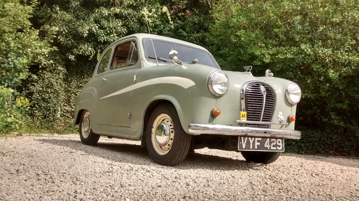 1958 Austin A35 2 door saloon - reduced price ! £2200 SOLD (picture 1 of 6)