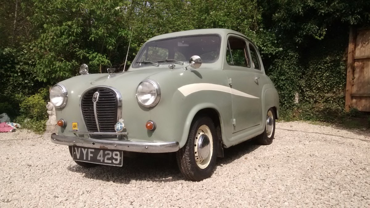 1958 Austin A35 2 door saloon - reduced price ! £2200 SOLD (picture 2 of 6)