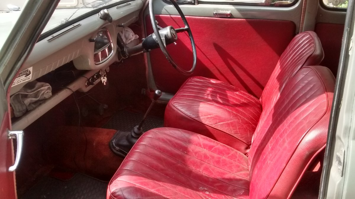 1958 Austin A35 2 door saloon - reduced price ! £2200 SOLD (picture 4 of 6)