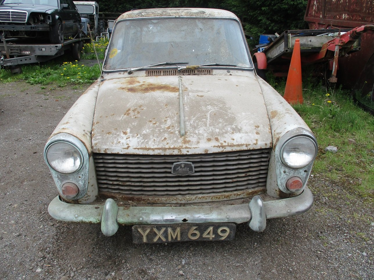 1963 AUSTIN A40 - Restoration Project For Sale (picture 1 of 4)
