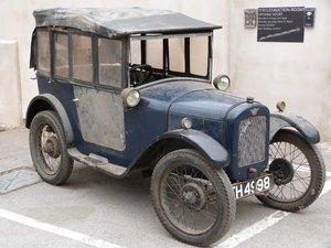 1927 Austin Seven Chummy four seat tourer vintage