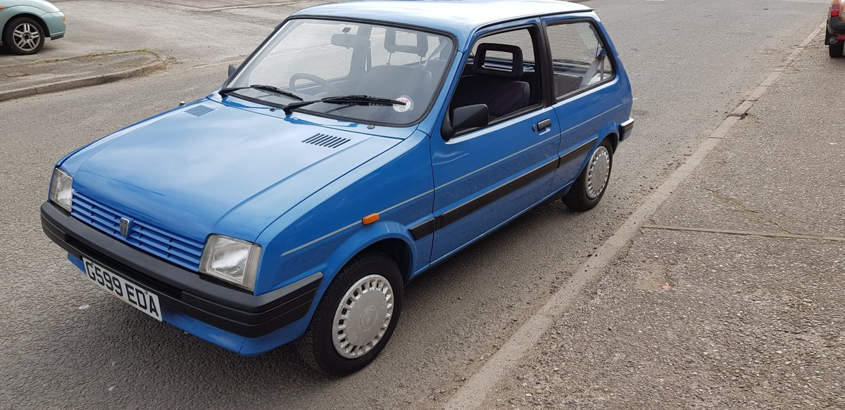 1989 Pretty little 2 door Austin Metro L 1.3 Automatic SOLD (picture 2 of 6)