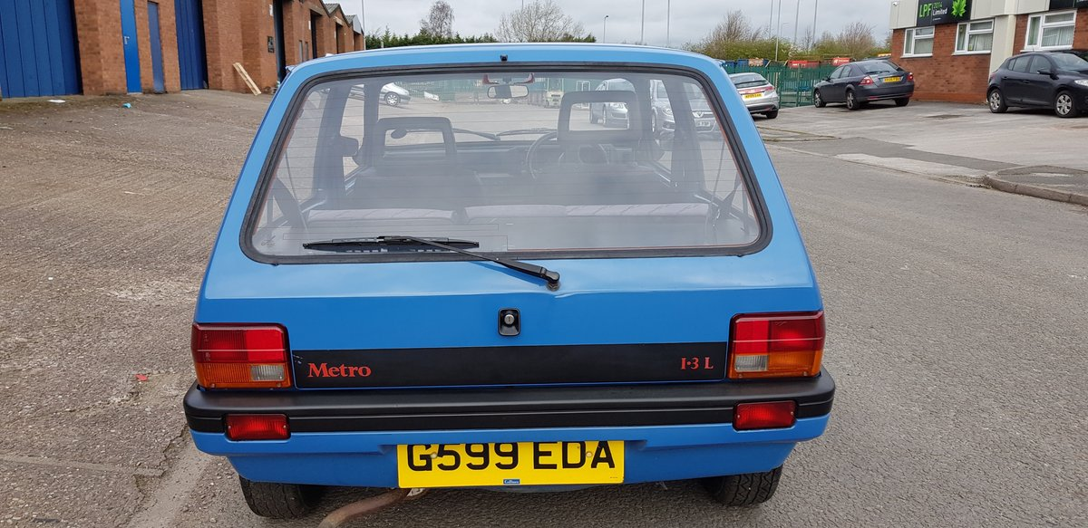 1989 Pretty little 2 door Austin Metro L 1.3 Automatic SOLD (picture 3 of 6)