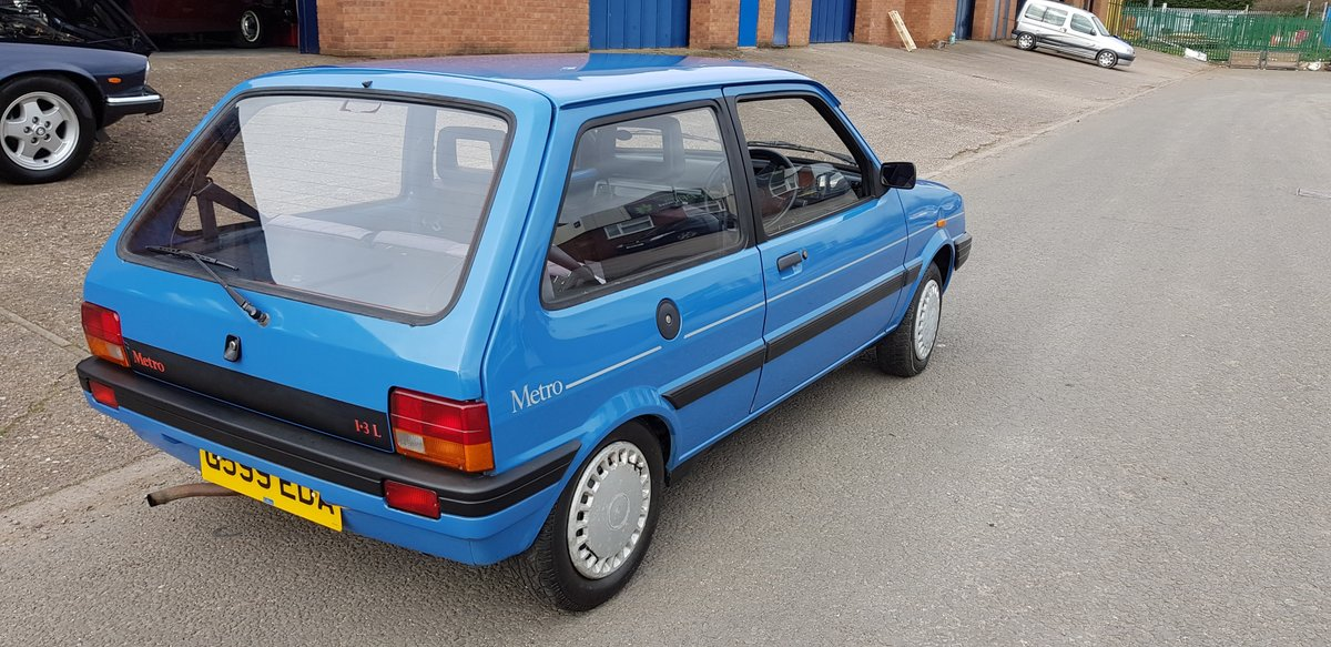 1989 Pretty little 2 door Austin Metro L 1.3 Automatic SOLD (picture 4 of 6)