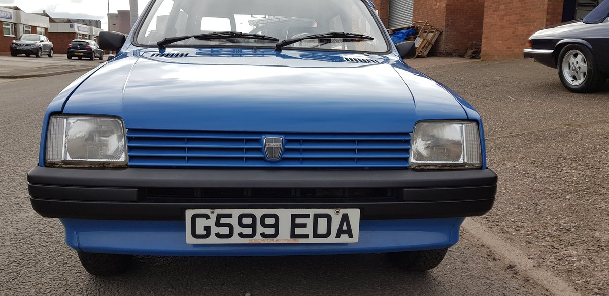1989 Pretty little 2 door Austin Metro L 1.3 Automatic SOLD (picture 6 of 6)