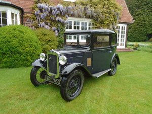 1932 Austin Seven RN Box Saloon  SOLD