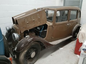 1935 Austin 10 Sherborne Shipped in from Africa in 2002 For Sale