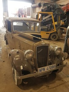 1935 Austin 10 Sherborne Shipped in from Africa in 2002
