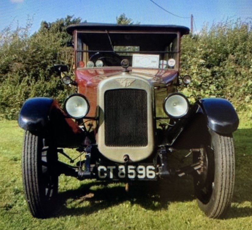 1927 Austin 12/4 Clifton Tourer  SOLD (picture 1 of 5)