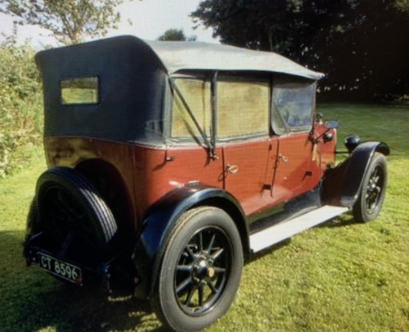 1927 Austin 12/4 Clifton Tourer  SOLD (picture 4 of 5)